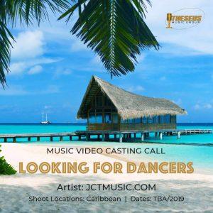 JCT music video casting call Caribbean 2019